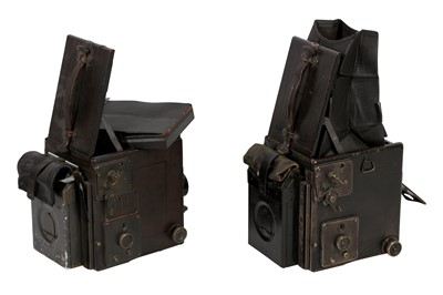 Lot 20 - A Pair of Revolving Back Graflex Cameras