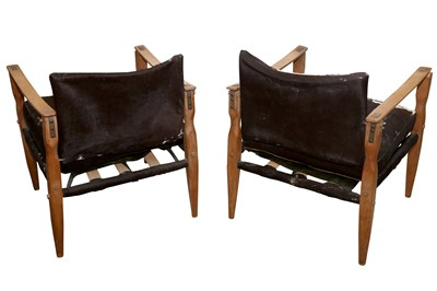 Lot 19 - A PAIR OF ROORKHEE STYLE SAFARI CHAIRS