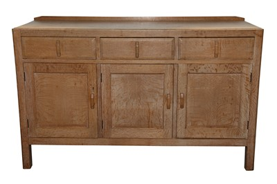 Lot 24 - A HEAL'S LIMED OAK SIDEBOARD