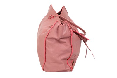 Lot 30 - Balenciaga Contrast Pink A4 Papier Tote
