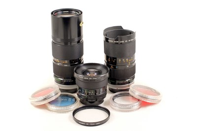Lot 39 - Canon A-1 Outfit with 17mm FD Lens.