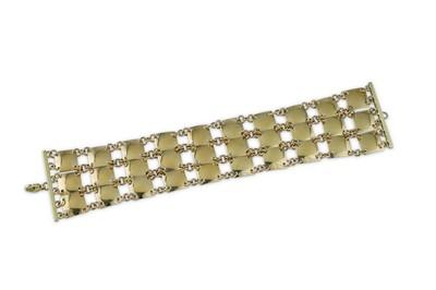 Lot 26 - Robert Lee Morris | A fancy-link bracelet