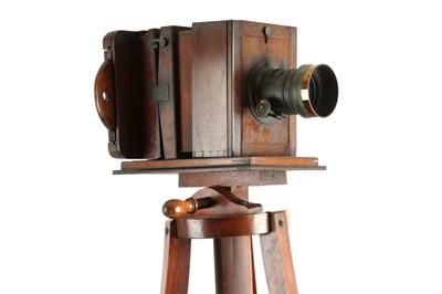 Lot 16 - A Wet Plate Sliding Box Studio Camera