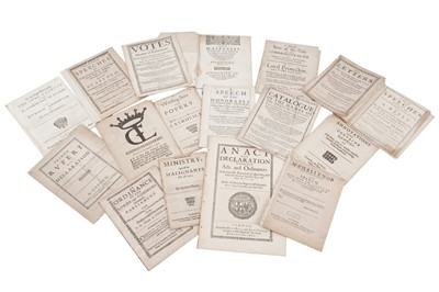 Lot 1515 - Collection of Cromwellian pamphlets.