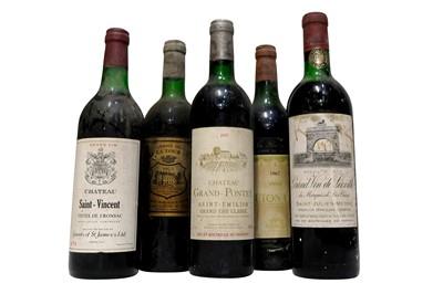 Lot 542 - Vintage Bordeaux Selection