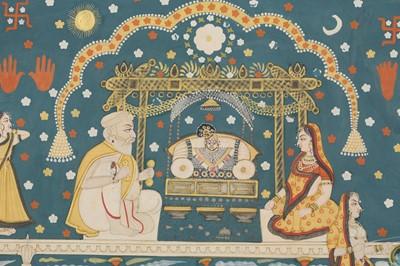 Lot 8 - SCENES FROM THE BHAGAVATA PURANA: THE LIFE OF KRISHNA