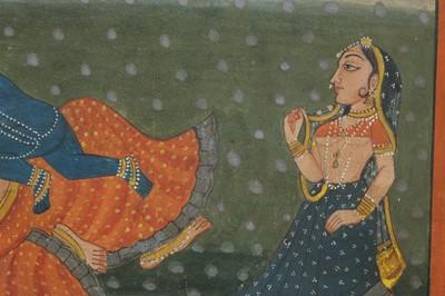 Lot 9 - AN ILLUSTRATION TO A BHAGAVATA PURANA SERIES