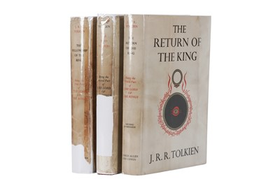 Lot 1536 - Tolkien (J.R.R.) Lord of the Rings.