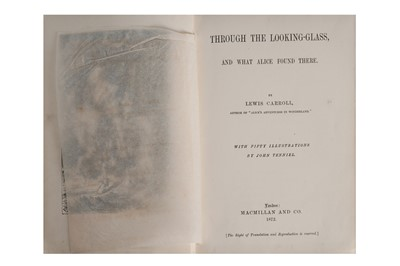 Lot 1509 - [Dodgson (Charles Lutwig)] Carroll (Lewis) Through the looking Glass