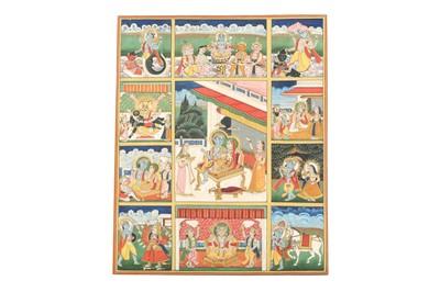 Lot 22 - THE DASHAVATARA OF LORD VISHNU
