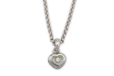 Lot 15 - Chopard | A 'Happy Diamond' pendant necklace