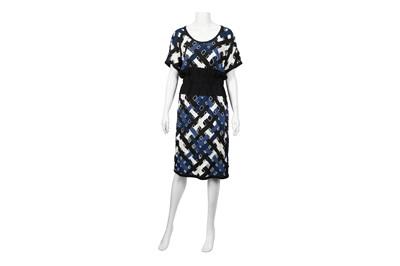 Lot 93 - Louis Vuitton Cut-Out Dress - Size 38