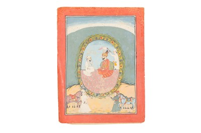 Lot 92 - NINE DECORATIVE PORTRAITS OF INDIAN AND ISLAMIC PROMINENT FIGURES