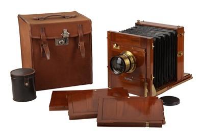 Lot 29 - A Large Whole Plate Gandolfi Tailboard Camera