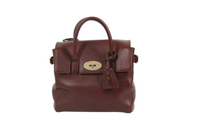 Lot 59 - Mulberry Oxblood Cara Delevingne 2Way Mini Backpack