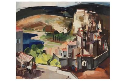 Lot 17 - VILMOS ABA-NOVAK (HUNGARIAN 1894-1942)