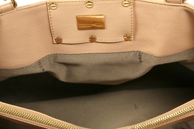 Lot 37 - Fendi Nude Ruched Shoulder Bag