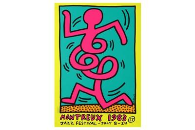 Lot 645 - KEITH HARING (AMERICAN 1958-1990)