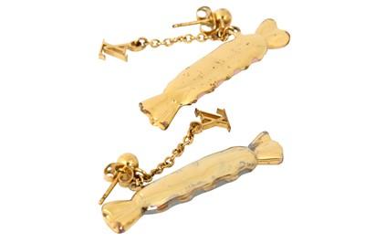 Lot 45 - Louis Vuitton Tutti Sweety Pierced Earrings