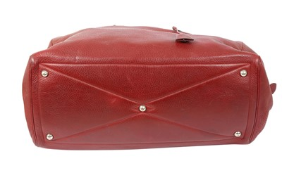 Lot 3 - Hermes Rouge Garance Clemence Victoria II 50