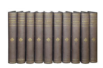 Lot 1502 - Bibliography. FVrench Literature.