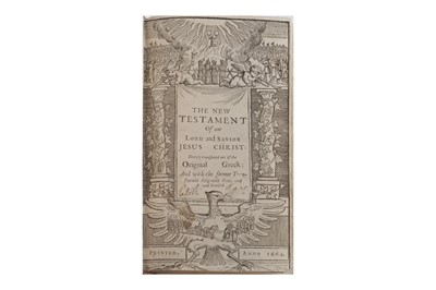 Lot 1511 - Bible: The New Testament.... 1664