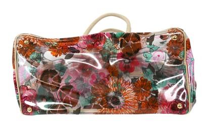 Lot 41 - Prada Transparent Floral Large Tote
