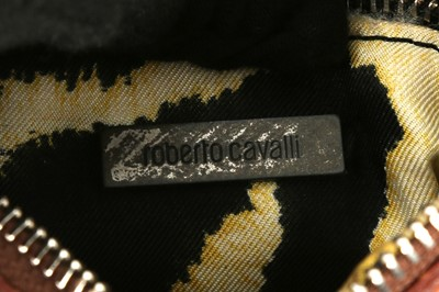 Lot 40 - Roberto Cavalli Pink Saddle Bag