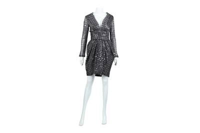 Lot 79 - Lanvin Grey Sequin Embellished Dress - Size 40