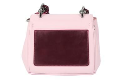 Lot 29 - Christian Dior Pink Be Dior Micro Bag