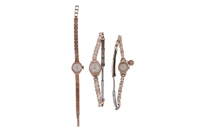 Lot 15 - 3 WATCHES.