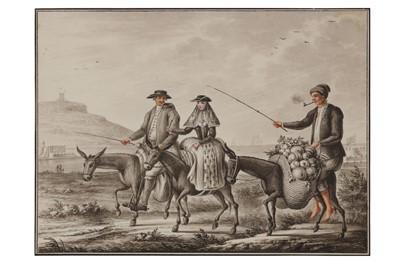 Lot 5 - Attributed to Bernard Lens II (British 1659-1725)