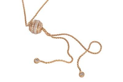 Lot 22 - Piaget   A diamond-set 'Possession Classique' pendant necklace, 2016
