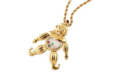 Lot 41 - Chopard | A 'Happy Clown' pendant necklace