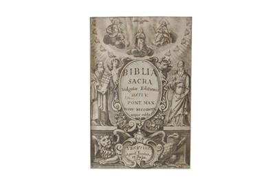 Lot 1500 - Biblia Sacra. 1648