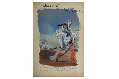 Lot 1019 - Autograph Album.- Spanish Interest incl. General Franco