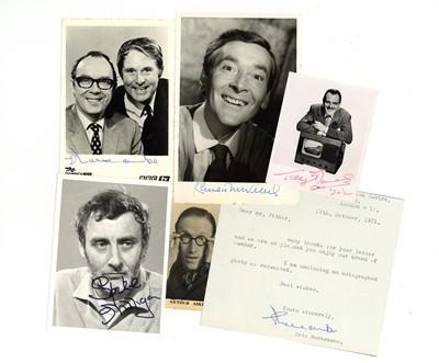 Lot 1031 - Autograph Collection.- British Comedians