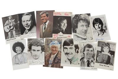 Lot 1025 - Autograph Collection.- Actors & Entertainers