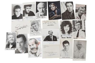Lot 1026 - Autograph Collection.- Actors & Entertainers