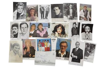Lot 1027 - Autograph Collection.- Actors & Entertainers