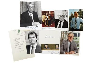 Lot 1032 - Autograph Collection.- British Politicians