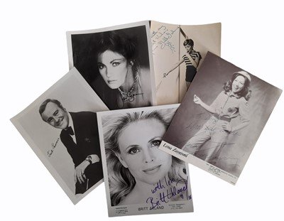 Lot 1041 - Photograph Collection.- Actors and Musicians