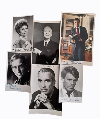 Lot 1028 - Autograph Collection.- Actors, Tv Stars and Entertainers
