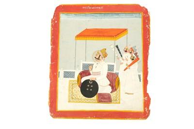 Lot 225 - A MARWAR RULERS SERIES: MAHARAJA SRI VIJAY SINGH RATHORE OF MARWAR (1729 - 1793)