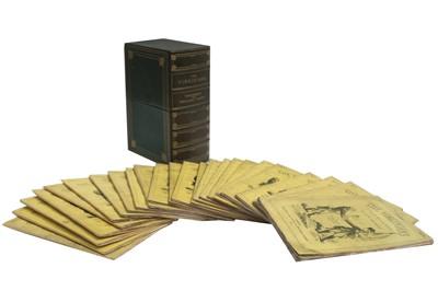 Lot 1524 - Thackeray (William Makepeace): The Virginians, original parts.1857-59