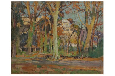 Lot 27 - LOUIS AGRICOL MONTAGNE (FRENCH 1879-1960)
