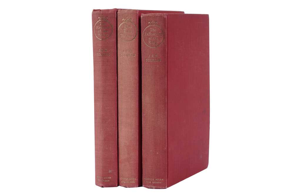 Lot 1537 - Tolkien (J.R.R.) Lord of the Rings. 1954-55