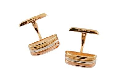 Lot 45 - Cartier   A pair of cufflinks