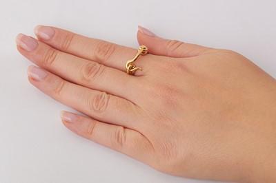Lot 27 - A novelty ring