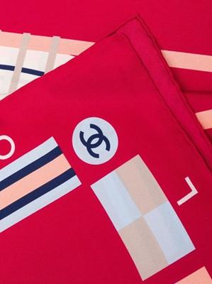 Lot 18 - Chanel 'Coco Cruise' Silk Scarf